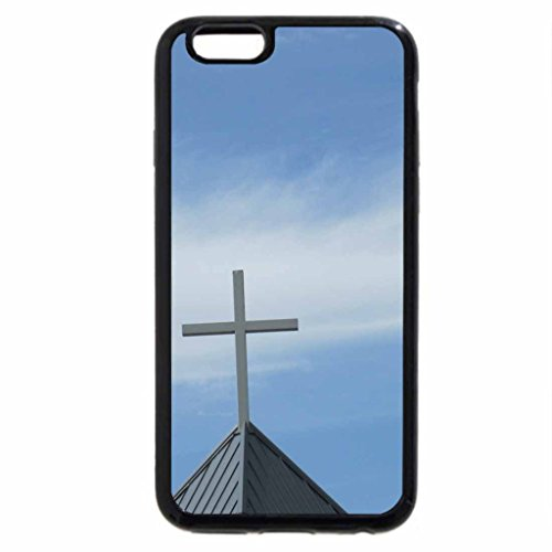 iPhone 6S / iPhone 6 Case (Black) Memorial Day Cross
