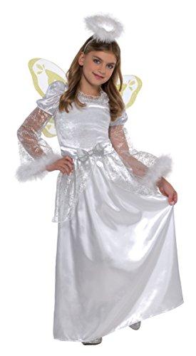 KINDERKOSTÜM - ENGEL - Größe 128 cm, Weihnachtsfeier Angel Engelchen (Angel Kostüme Kleinkind)