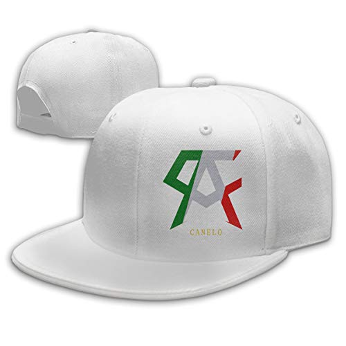 Abigails Home Canelo Alvarez Einstellbare Baseballmütze Hip-Hop-Mütze Herren Sport Weiß Abigail Caps