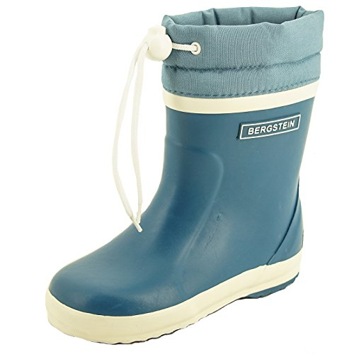 Bergstein Unisex-Kinder Winterboot Gummistiefel Blau (Jeans)