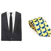 Barney's Awesomeness Bundle: Ducky Tie & Brobib as worn by