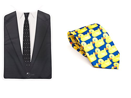 Barney's Awesomeness Bundle: Ducky Tie & Brobib as worn by Barney Stinson on How I Met Your Mother