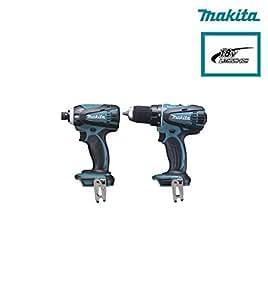 Ensemble de 2 machines 18 V Li-Ion 4 Ah (DDF456 + DTD146) Makita DLX2014MJX