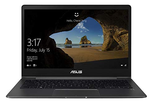 ASUS ZenBook 13 UX331UN (90NB0GY2-M00300) 33,7 cm (13,3 Zoll, FHD, matt) Ultrabook (Intel Core i7-8550U, 16GB RAM, 512GB SSD, NVIDIA MX150 (2GB), Windows 10) grey metall (Generalüberholt)
