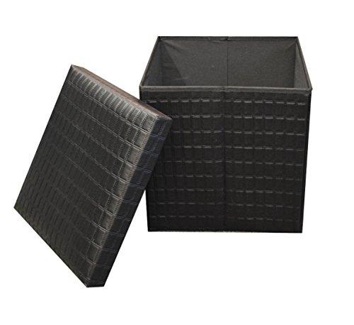 double-and-single-acolchado-plegable-banco-de-rwe-bestdeal-baul-de-almacenaje-poliuretano-negro-sing