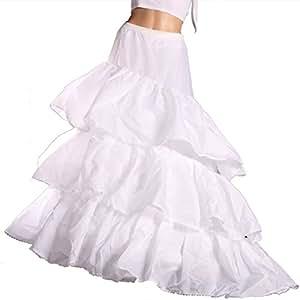 2 Hoop 3 couches robe de mariage blanc robe de mariée Jupon Jupon