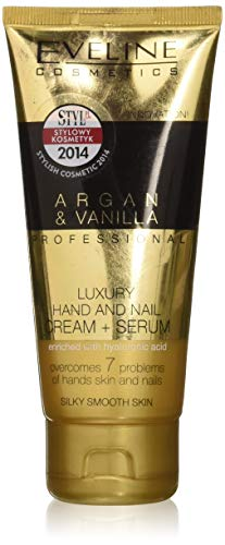 Eveline Professional Luxury Hands & Nails Cream-Serum Argan & Vanilla 100ml by Eveline Cosmetics