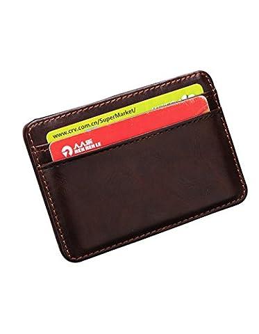 Mens porte-monnaie-All4you cuir synthétique Funny Magic Wallet pour les hommes avec porte-cartes porte-monnaie Money (b)