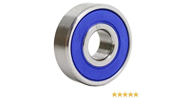 S699/2RS//ss699/2RS ACCIAIO INOSSIDABILE Mini cuscinetto a sfera 9/X 20/X 6/mm//Qualit/à industriale//699ss//699rs inox inossidabile 699rs 699