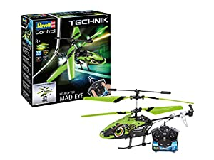 Revell Control- RC TECHNIK Helicopter MadEye Juguetes a Control Remoto, Color Verde (24716)