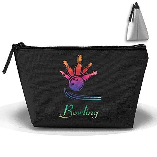 Bowling geschenk stift schreibwaren federmäppchen kosmetik make-up tasche beutel