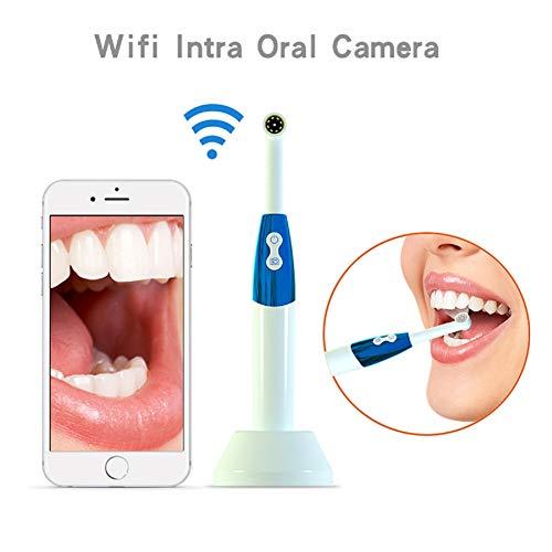 XKRSBS Orales Endoskop, 4,3 Zoll Wireless LCD WiFi Dental Check Orales Endoskop Hd Kamera 2mp 11mm Heim Orales Endoskopsystem