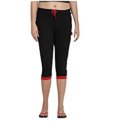 Valentine Capri Feel And Look Great & Make Your Workout Sessions Comfortable With This Pair Of Capris From Valentine.Team It With A Tank Top And Running Shoes For A Complete Workout Outfit Or Just Put On Your Slippers And A Basic T-Shirt And You ...