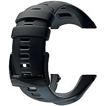Suunto Ambit2 S Ambit3 Sports Silicone Strap - Correa reloj, color negro