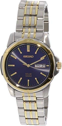 Seiko- Men's SNE502 Silver Stainless-Steel Japanese Quartz Fashion Watch