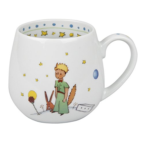 Könitz 1111431363 Kaffeebecher, Porzellan, mehrfarbig, 13.2 x 8.2 x 9.7 cm (Kaffee-prinz-becher)