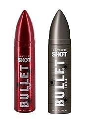 Layerr Shot, Bullet Ammo & Reload Deodorant For Men ( Set of 2 )
