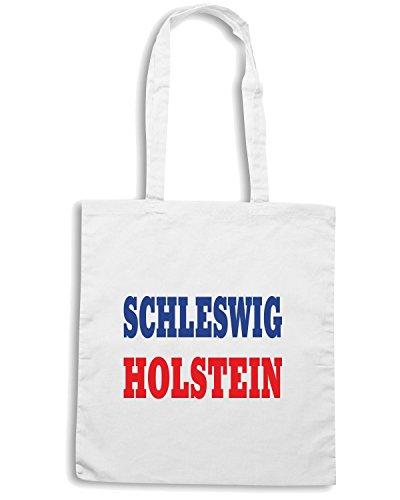 T-Shirtshock - Borsa Shopping WC0849 SCHLESWIG HOLSTEIN GERMANY LAND CITY Bianco