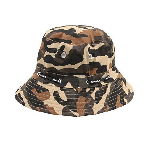 HUOLIMAO Sommer Männer Frauen Unisex Eimer Baumwolle Hut Wasserdicht Camouflage Cool Outdoor Angeln Jagd Camping Fischer Sun Cap -