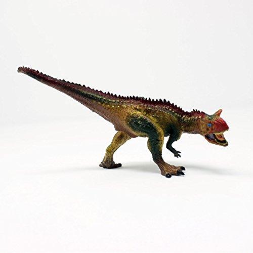 Carnotaurus T-Rex Dinosaur Toy 8 inch - (1TNG137) - Big Realistically Detailed Animal Figure
