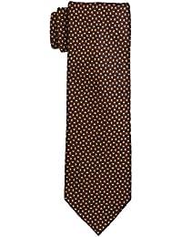 SCHARF Men's Toulouse Satin Tie, Geometric