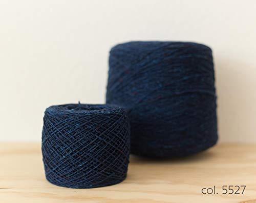 Knoll Soft Donegal Tweed, Merino Wool Blue / 100% Merino Wolle Blau (5527), 100g -