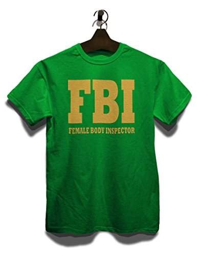 Fbi Female Body Inspector 2 T-Shirt Grün