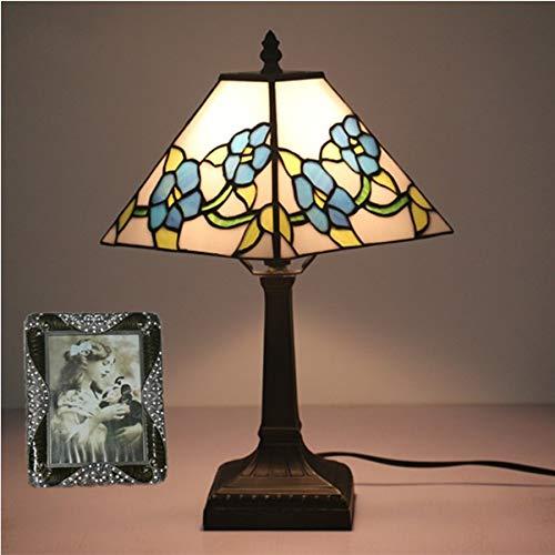 LJDD Americana lámpara de Mesa, lámpara de cabecera del Dormitorio, E27 Interfaz,...