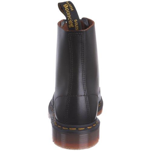 Dr. Martens 1460z Vintage 8 Eye Boot Black, Derby Homme Noir mat