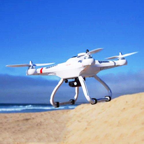 CX-20 Cheerson Auto Pathfinder -GPS Autopilotsystem Drone Copter CX-20 EXPLORER (Forscher) Weiße Sonder-Edition mit Tonaufzeichnung – 3D Quadrocopter Drohne, mit Motor-STOPP-Funktion & Akku-Warner, 360° Flip Funktion, RTF 2.4 GHz, 4-Kanal, Multi-AXIS Stabilization System