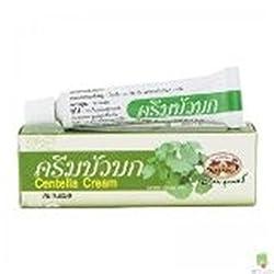 Abhaibhubejhr Gotu Kola Cream / Centella Cream 10g. Improves the Healing Process of Wounds