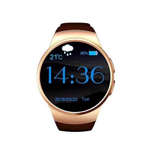 Sweatproof Smart Watch Sms Vibration,Smart Watch Anti-Verloren,Zusammen Aktiv Bleiben Multifunktion Uhr-Telefon,Bluetooth Uhr-Telefon Bewegungs-Erinnerung