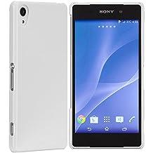 Case-Mate CM030993 - Funda para móvil Sony Xperia Z2 (resistente a rayones), blanco