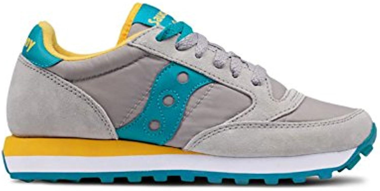 Saucony Sneakers Jazz Original Grey - Teal Blue, Femme.B07CVYCWXLParent Femme.B07CVYCWXLParent Blue, e6d532