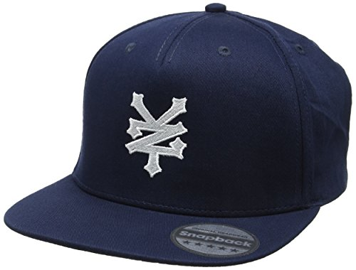 zoo-york-core-logo-casquette-de-baseball-homme-bleu-bleu-marine-taille-unique