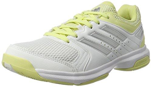adidas Damen Essence Laufschuhe Mehrfarbig (FTWR White/Silver Met./Ice Yellow F16) 37 1/3 EU
