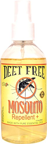 CERO Mosquito Repellent SPRAY Citronella Eucalyptus Neem Based 'NO DEET' (200ml)