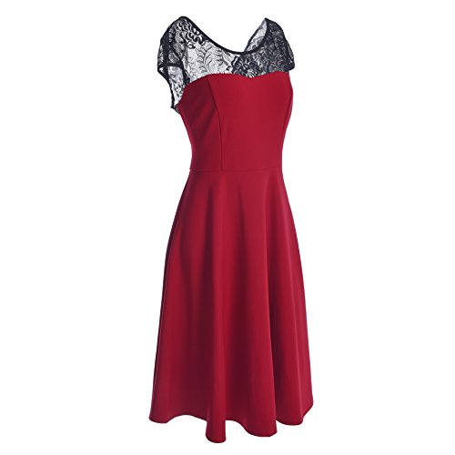 Blooming Jelly -  Vestito  - stile impero - Basic - Donna Rot