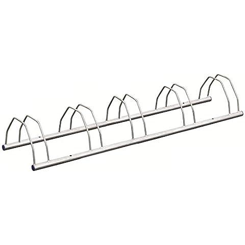 Hardcastle Porte Vélo Montage au Sol/Mur - Choix de Tailles - Râtelier Rangement de Vélo