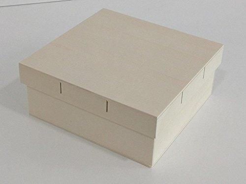 Cajas de madera para manualidades comprarun - Manualidades pintar caja metal ...