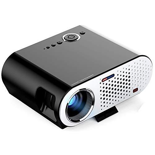 SG Mini-Heimprojektor LED-Projektor unterstützt HD 1080P Kann an Computer, U-Disk, AV-Kabel mit Set-Top-Box, DVD und andere Geräte angeschlossen Werden. (In Heimkino-system Der Decke)