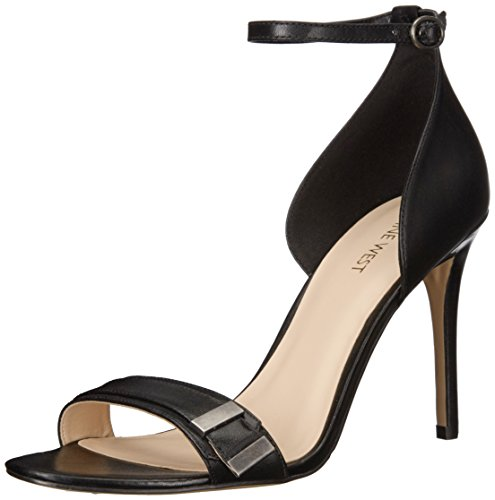 Nine West Matteo Leder Sandale Black