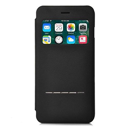 iPhone 6S Plus / 6 Plus Hülle, IVSO Hohe Qualität Case Folio Tasche Cover-mit Standfunction, Fenster, ist für Apple iPhone 6 plus/6s Plus 5.5