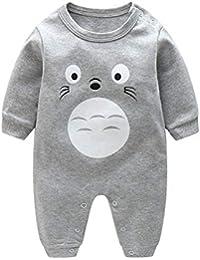 137b0614a Bold N Elegant Grey Cute Hamster Bunny Print Baby Clothing Kids Romper  Coverall Footless Onesie Bodysuit