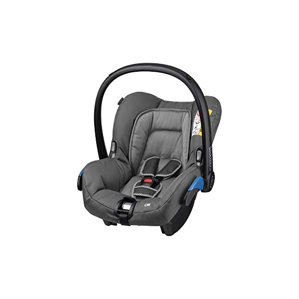 Maxi-Cosi Kinderautositz Citi Concrete Grey Maxi-Cosi Side protection system, guarantees optimal protection in the event of a side impact Lightweight, light weight and ergonomically shaped safety bar for use as carrying handle Practical travel system 1
