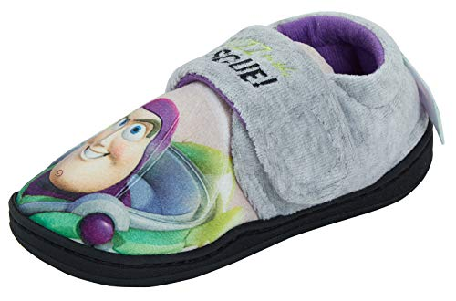 Disney Toy Story Buzz Lightyear Zapatillas, Color Gris, Talla 30 EU