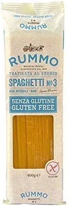 Rummo - Spaghetti n.3 Bronce Dibujado - 12 Paquetes de 400 g