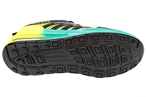 schwarz gelb donna Sneaker gibra türkis Nero Tw01tCq