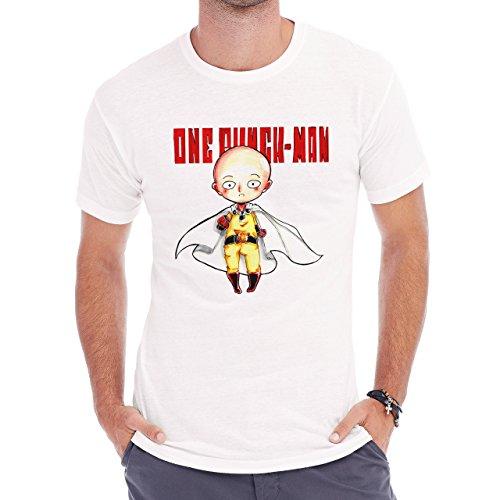 One Punch Man Sketch Herren T-Shirt Weiß