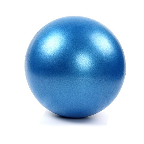 Latinaric Mini Ballon Gymnastique Balle Fitness Exercice Anti-Eclatement Pilate Diamètre 25CM